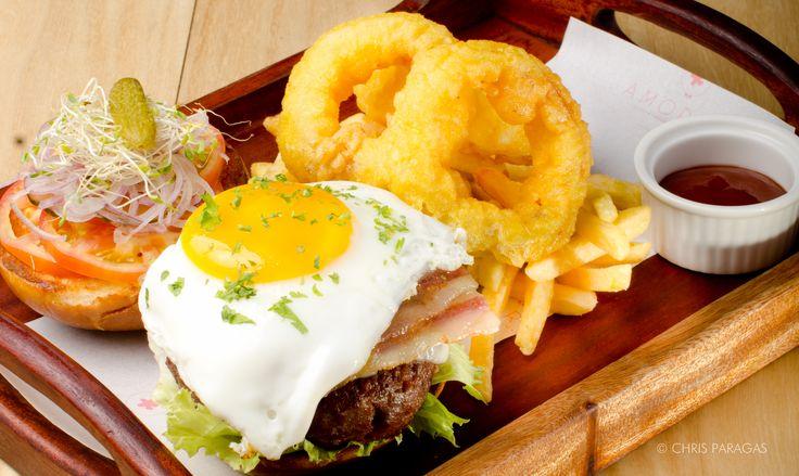 Amorita Resort, Panglao Bohol Burger
