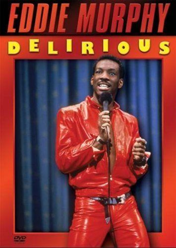 "Eddie Murphy Delirious: ""Eddie Murphy's raunchy, raucous stand-up comedy routine is captured for posterity on this tape. Not for folks who dislike foul language.""   :D"