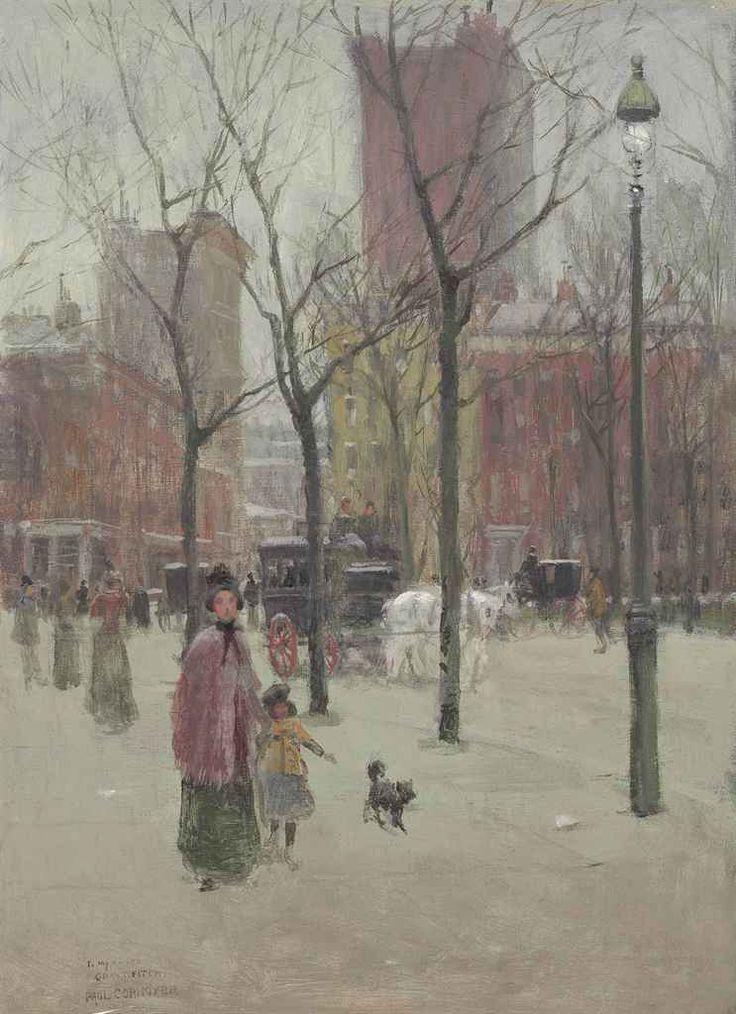 Paul Cornoyer (1864 - 1923) - milk  - ☆ Milk ☆ 平平。淡淡。也是真。