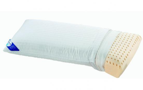 """Almohada al mejor precio. ALMOHADA """"LÁTEX"""" Almohada Látex 100%. Perforada para su perfecta ventilación. Estructura celular abierta. Anti presión que alivia la presión sanguínea. Anatómica. Doble funda Composición: Funda interior 100% poliéster. Funda exterior 100% algodón. GARANTIA 2 AÑOS  http://www.colchonesyalmohadas.es/producto.php?Id=71"""