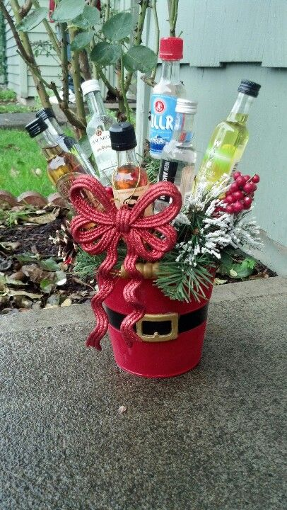 Holiday Cheer Plant for white elephant gift exchange.