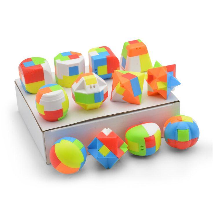 Babelemi 3D rompecabezas Luban bloqueo chino clásico juguetes educativos para niños