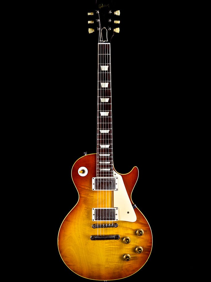 "The 1959 Gibson Les Paul Standard "" Burst ""  is far and away one the most desirable and collectable guitars ever produced. Visually, each example displays unique characteristics in the figured maple tops, unique grain patterns in the Honduran mahogany backs & necks and of course the different..."