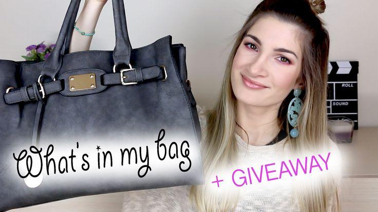 What's in my bag/Τι έχω στην τσάντα μου + GIVEAWAY   Eleonora