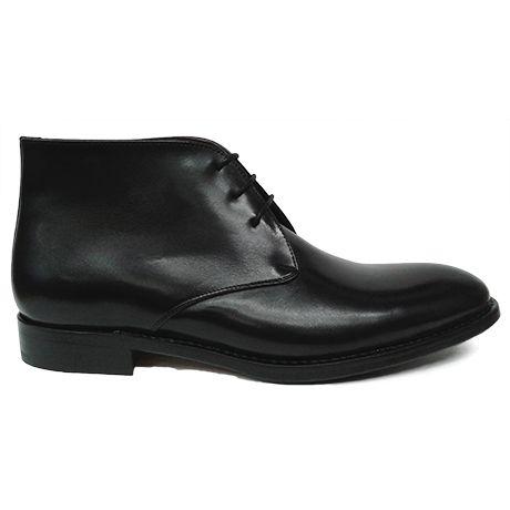 Ascroft botín chukka negro