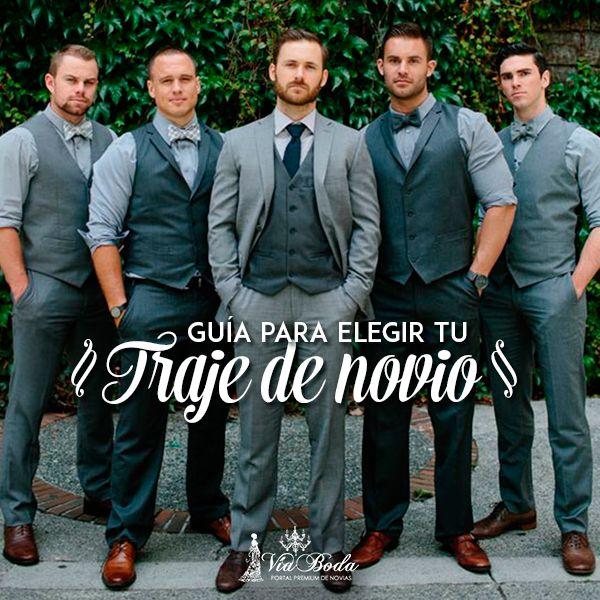 Guía para Elegir tu Traje de Novio --  VíaBoda quiere mostrarte una guía completa para elegir el perfecto traje del novio para tu boda.