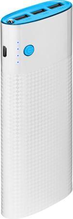 """InterStep InterStep PB150003U 15000 мАч  — 2490 руб. —  Портативное зарядное устройство InterStep PB150003U имеет стильный корпус с дизайном """"под карбон"""". Он изготовлен из высокопрочного пластика, способного защитить встроенную батарею и другие компоненты от случайных повреждений. Универсальное применение. Гаджет снабжен тремя портами USB с силой тока до 2,4 А. Благодаря этому он может работать с самыми разными мобильными девайсами – от беспроводных гарнитур и наушников до современных…"""