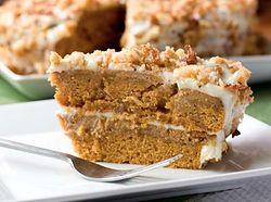 Pumpkin Crunch Cake 13 x 9 inch cake $65 thesmoothiebar.ca
