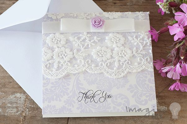 43 best Wedding Thank You Cards images on Pinterest Appreciation - make your own thank you cards