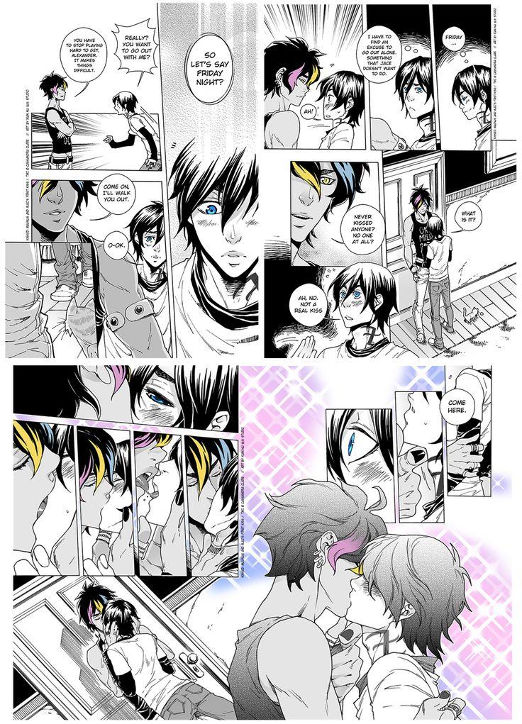 Magnus And Alec Kiss
