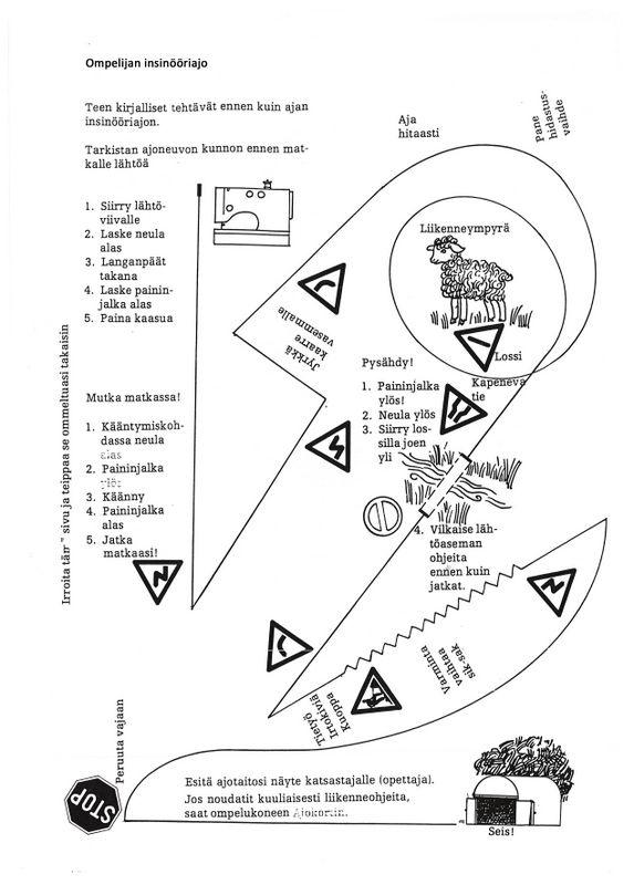 Ompelun taitotodistus (6), insinööriajo.
