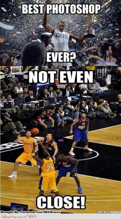 Best NBA Photoshop Ever? - http://weheartchicagobulls.com/nba-funny-meme/best-nba-photoshop-ever