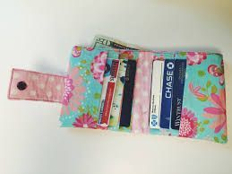 Credit card holder sewing tutorial