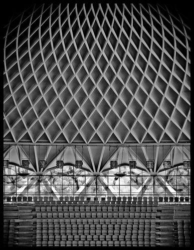 Nick Worley, Palazzetto dello Sport Roma, Designed by Annibale Vitellozzi, Engineered by Pier Luigi Nervi
