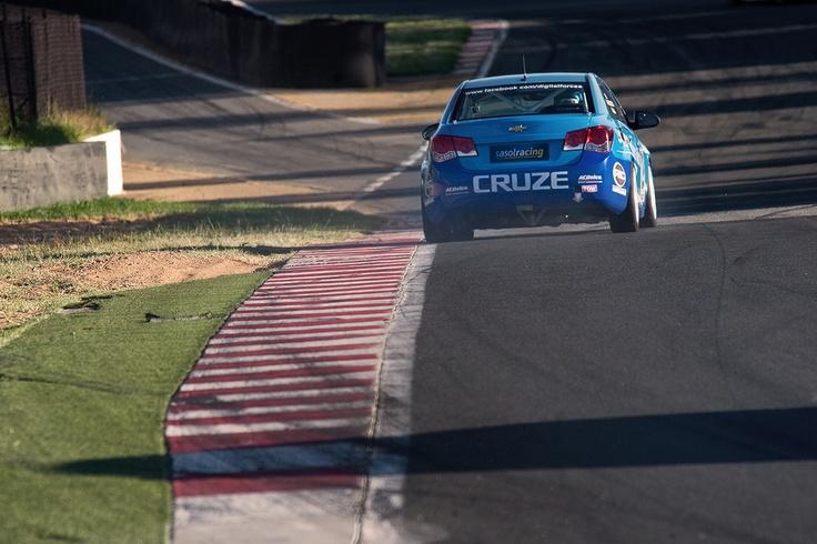 The current Williams Hunt Chevrolet Cruze racing machine