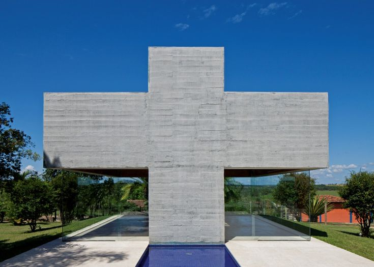 All Saints Chapel by Gustavo Penna #architecture #religious-buildings