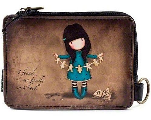Monedero de Gorjuss I Found My Family in a Book #gorjuss #santoro #santorolondon #accessories #pouches #purses #accesorios #monederos #xtremonline #gothic #goth #gotico
