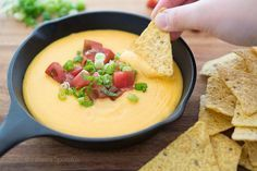 Homemade Nacho Cheese Sauce Recipe made with REAL cheese and real ingredients, from scratch. Great for football or parties