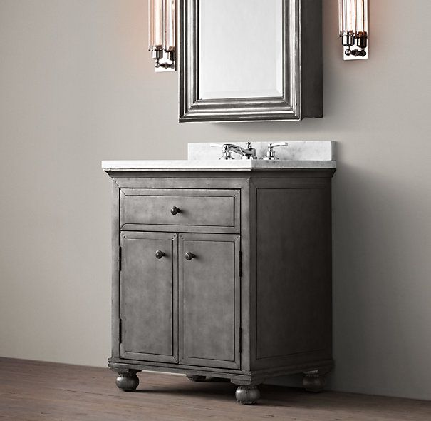 Book Of Restoration Hardware Bathroom Vanity Knockoff In