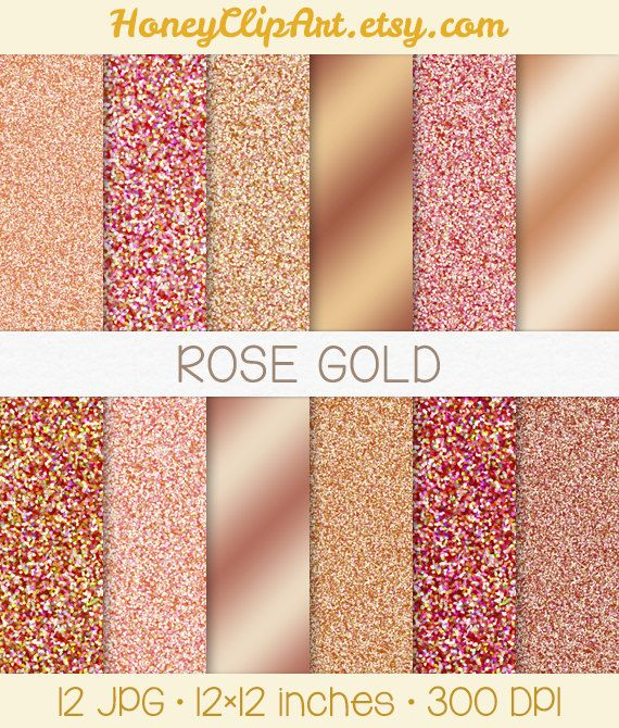 pink rose gold foil - photo #3