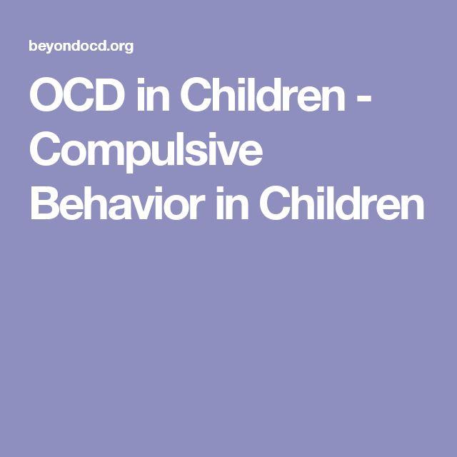 OCD in Children - Compulsive Behavior in Children