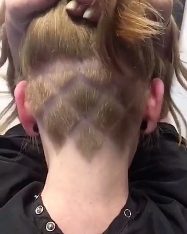 """47 curtidas, 4 comentários - Stacy (@bonniekildclyde) no Instagram: """"I love undercuts ❤️ to start your hair transformation text 5714213877 but isnt @jtucker713 too fab…""""  https://www.instagram.com/p/BTOrc75Flyb/"""