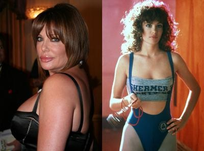 Weird Science's Kelly LeBrock: Supermodels All Grown Up Photos - Celebrity Pictures at Hollyscoop. Sad but she didn't fare so well with age