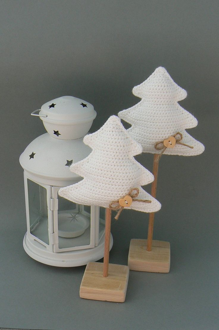 Instructions for crocheted tree.