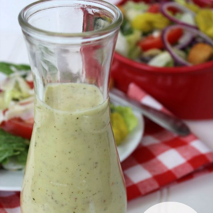 CopyCat Olive Garden Salad Dressing Recipe Salads with white vinegar, vegetable oil, olive oil, mayonnaise, garlic powder, sugar, pepper, salt, italian seasoning, italian salad dressing, grated parmesan cheese, lemon juice, xanthan gum, water