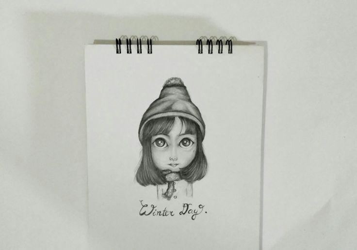 Winter Costum Illustration