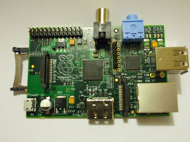Raspberry PI $35 Computer Launches. This is so awesome. I cannot wait to get my hands on one. More at http://atechpoint.com/ #tech #atechpoint