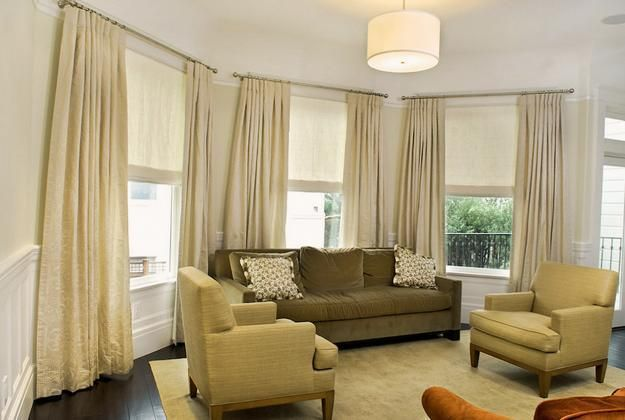 Best 25 modern window coverings ideas on pinterest - Modern window treatments for living room ...