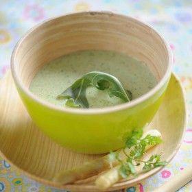 Soupe de courgette à l'indienne