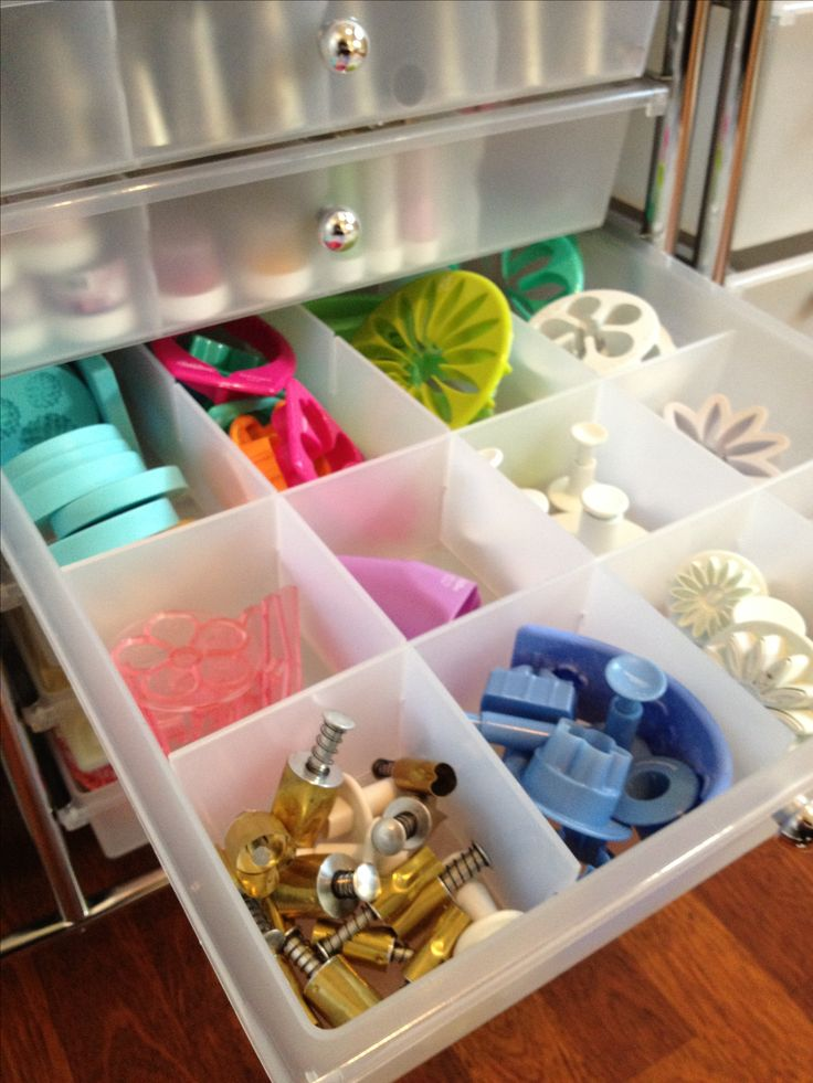 Keeping my baking tools and goodies organized!-Recollections Storage Unit -