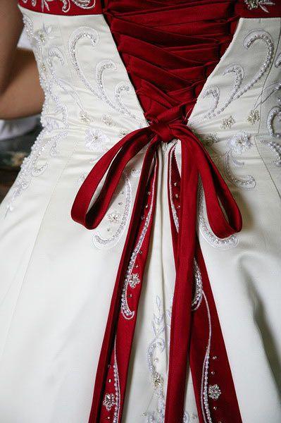 Thats a pretty back to a dress.