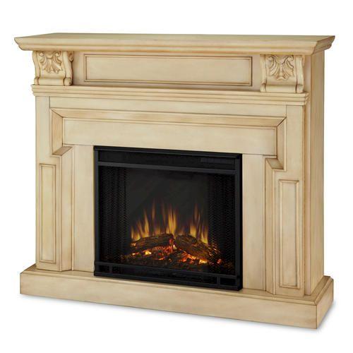 Antique Vintage Bedroom Fireplace: Real Flame Kristine Electric Fireplace At Menards