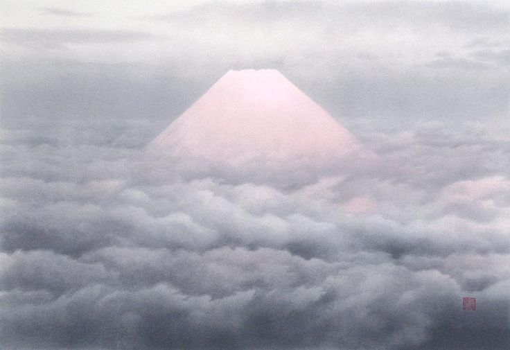"Kaii Higashiyama - ""Aurora"" 1980 - Serie Encuentros con los paisajes."