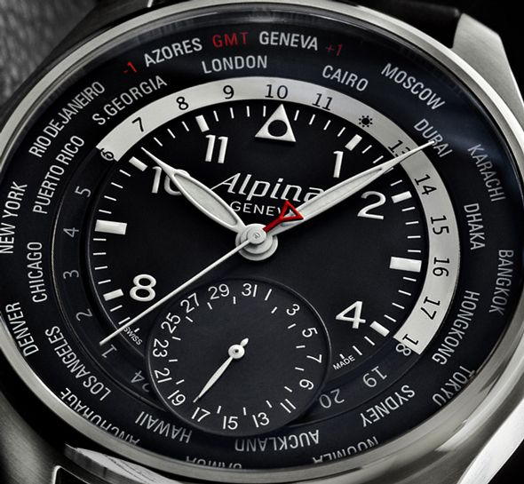 Спортивные часы от Alpina - Worldtimer Manufacture | LuxuriousWatches.ru