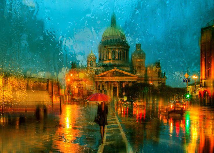 Фотография дождь в Санкт-Петербурге автор Ed Gordeev на 500px