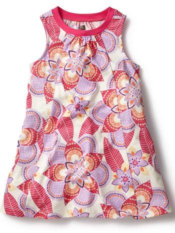 Tea Collection Kalinda Trapeze Dress available at www.tinysoles.com! #TinySoles