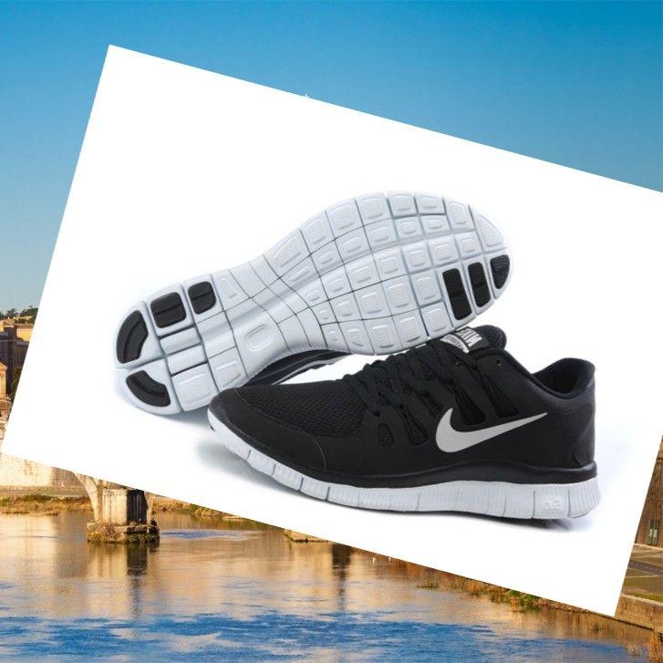 Nike Free Run 5.0 V2 Uomini Corsa Scarpe Novità Presa Nero,HOT SALE!