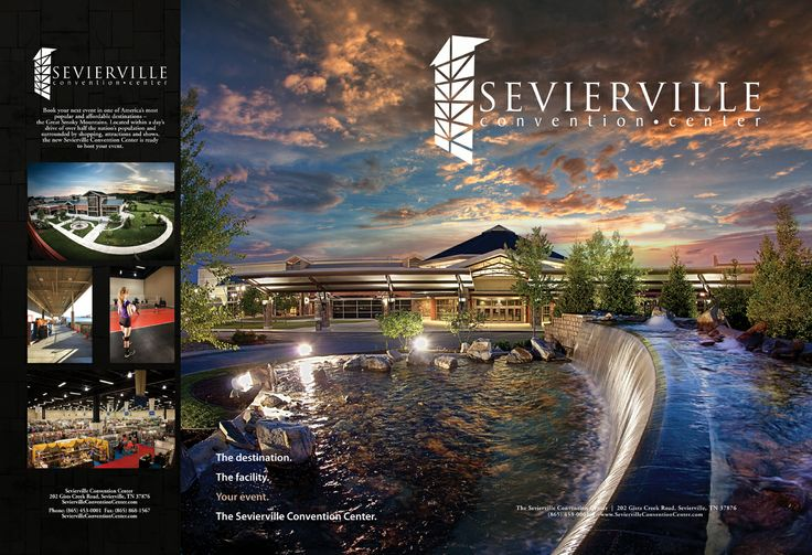 Another great image for Sevierville Convention Center Sales Team!