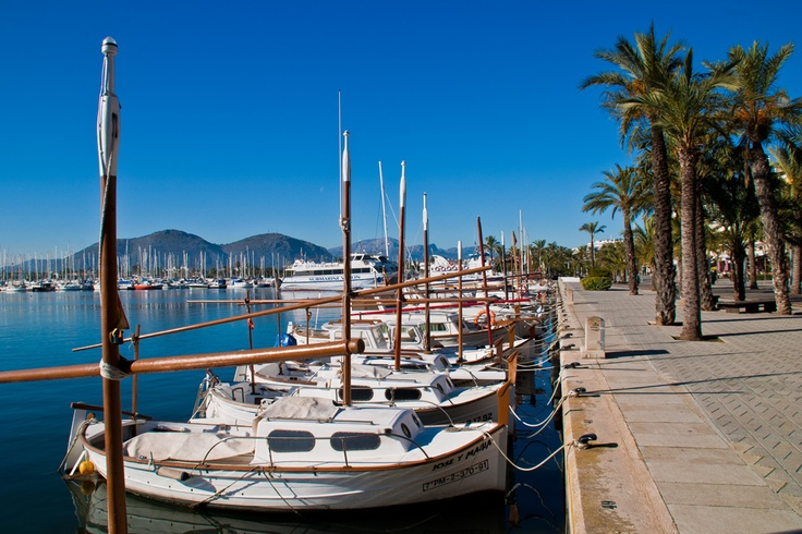 Puerto de Alcudia, Mallorca, Balearic Islands, Spain