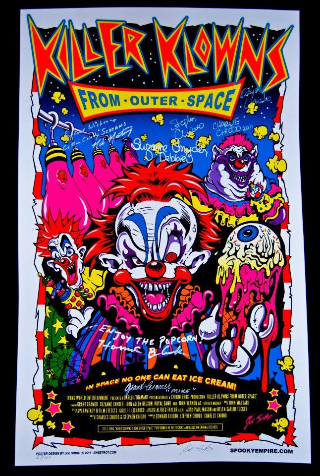 224 best killer klowns from outer space images on for Return of the killer klowns from outer space