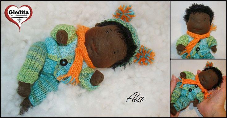 Little Gledita baby doll - Ata #gleditababydoll
