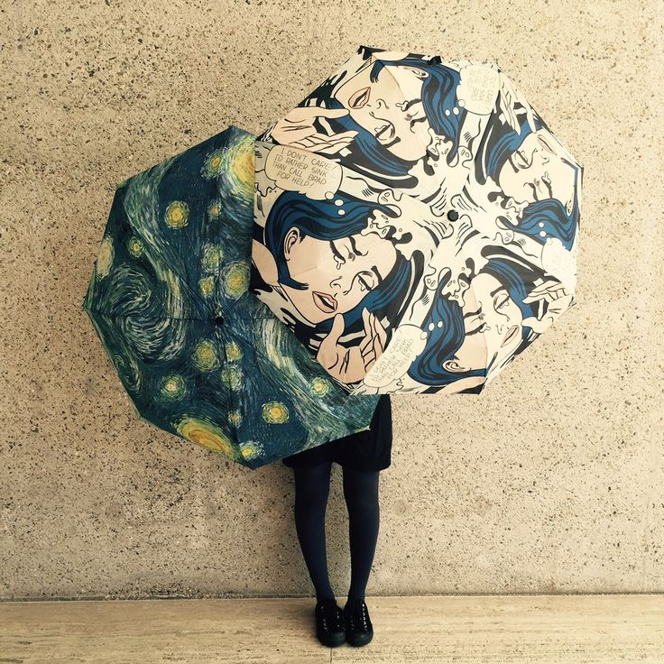 Fashionistas and art lovers unite - these fun umbrellas are exactly what you need in your life.  Come and see what we have to offer at the QAGOMA Stores