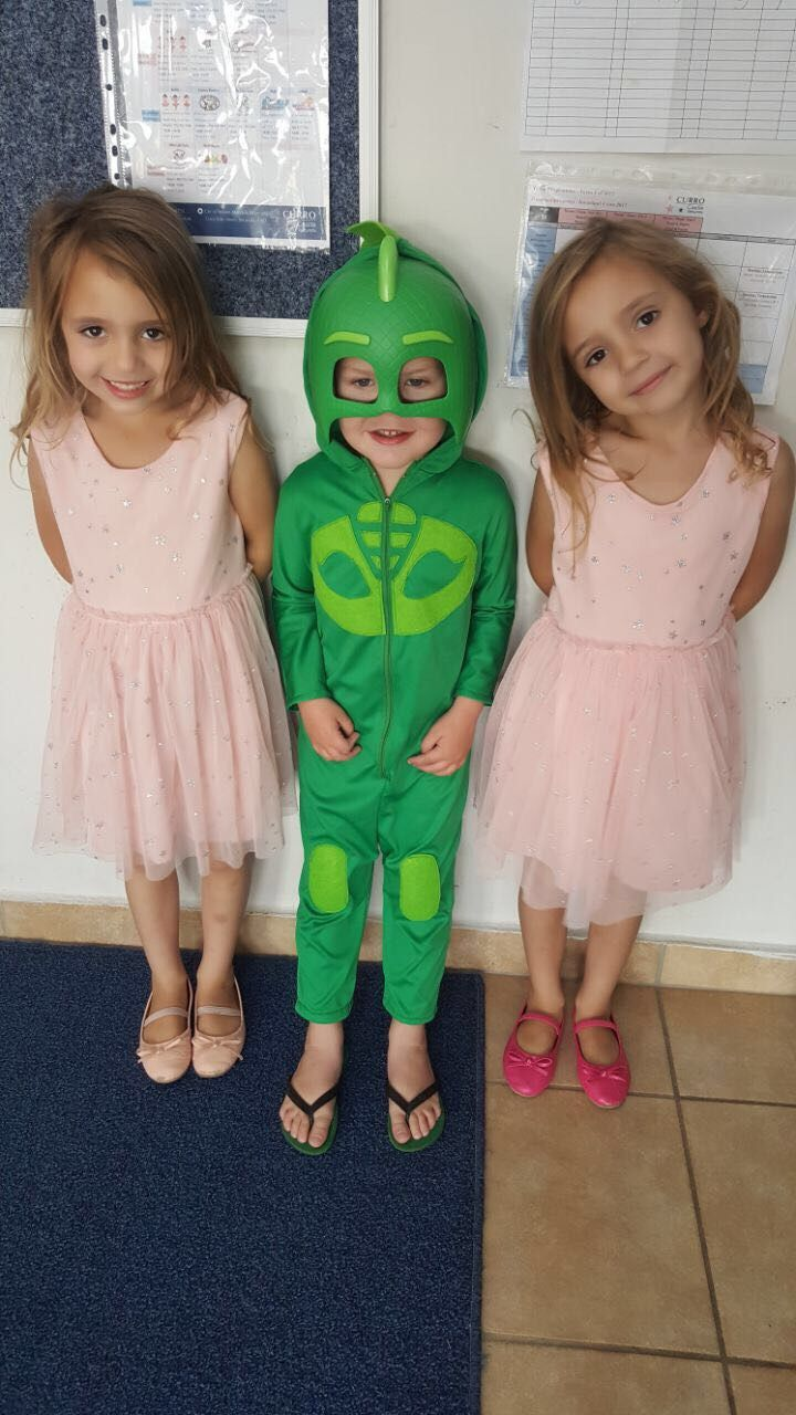 Gecko suit made for Rulof's birthday.