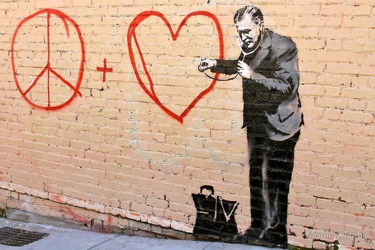 Banksy, San Francisco, California