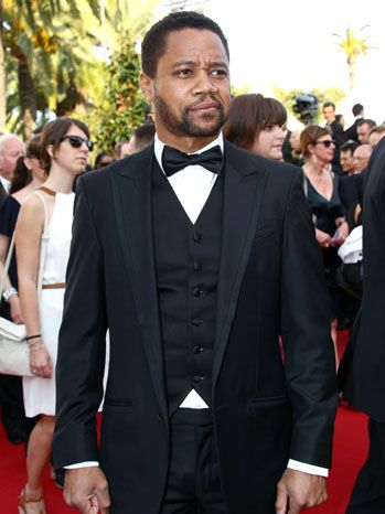 Cuba Gooding Jr. poses on the carpet before the premiere of The Paperboy. The actor is circling a role in Lee Daniels' film, The Butler, which may also star The Paperboy actor Matthew McConaughey.