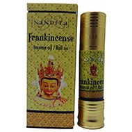 Nandita, Frankincense, Incense Oil/Roll on - 8ml --> Nandita, Frankincense is warming and calming. The best incense oil or roll on that can be used during mediation. Nandita Frankincense aroma oil has an earthy healing fragrance.....https://www.veganherbs.com/p-285-nandita-frankincense-incense-oil-roll-on-8ml